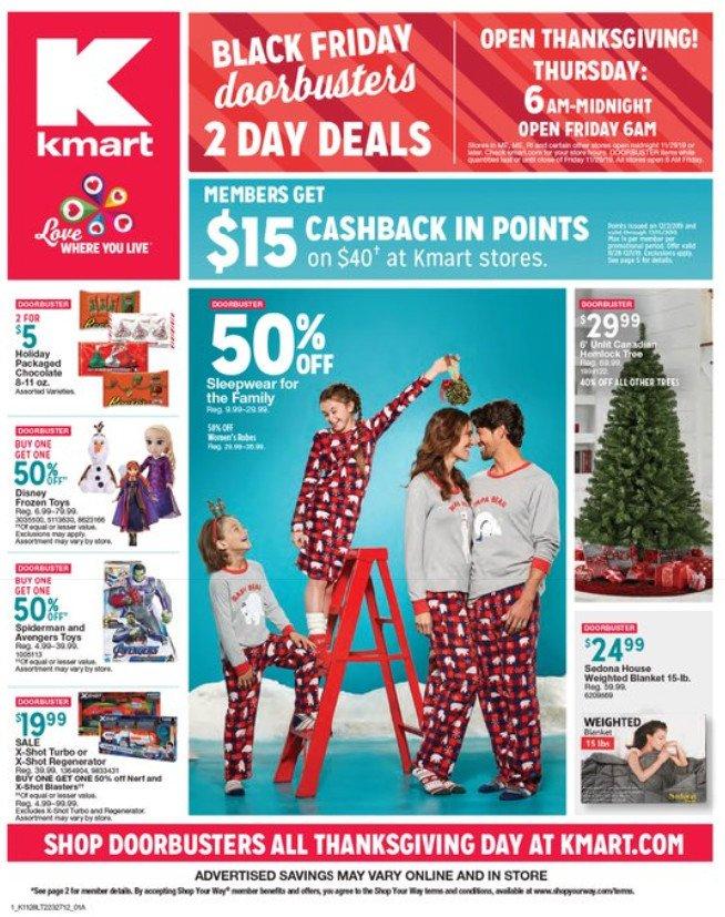 Kmart Black Friday Sale Nov 28 – Dec 01, 2019