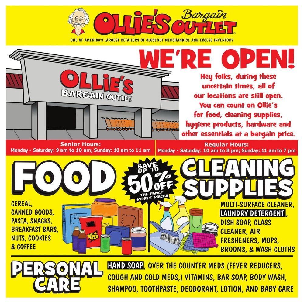 Ollie's Weekly Ad Mar 26– Apr 01, 2020