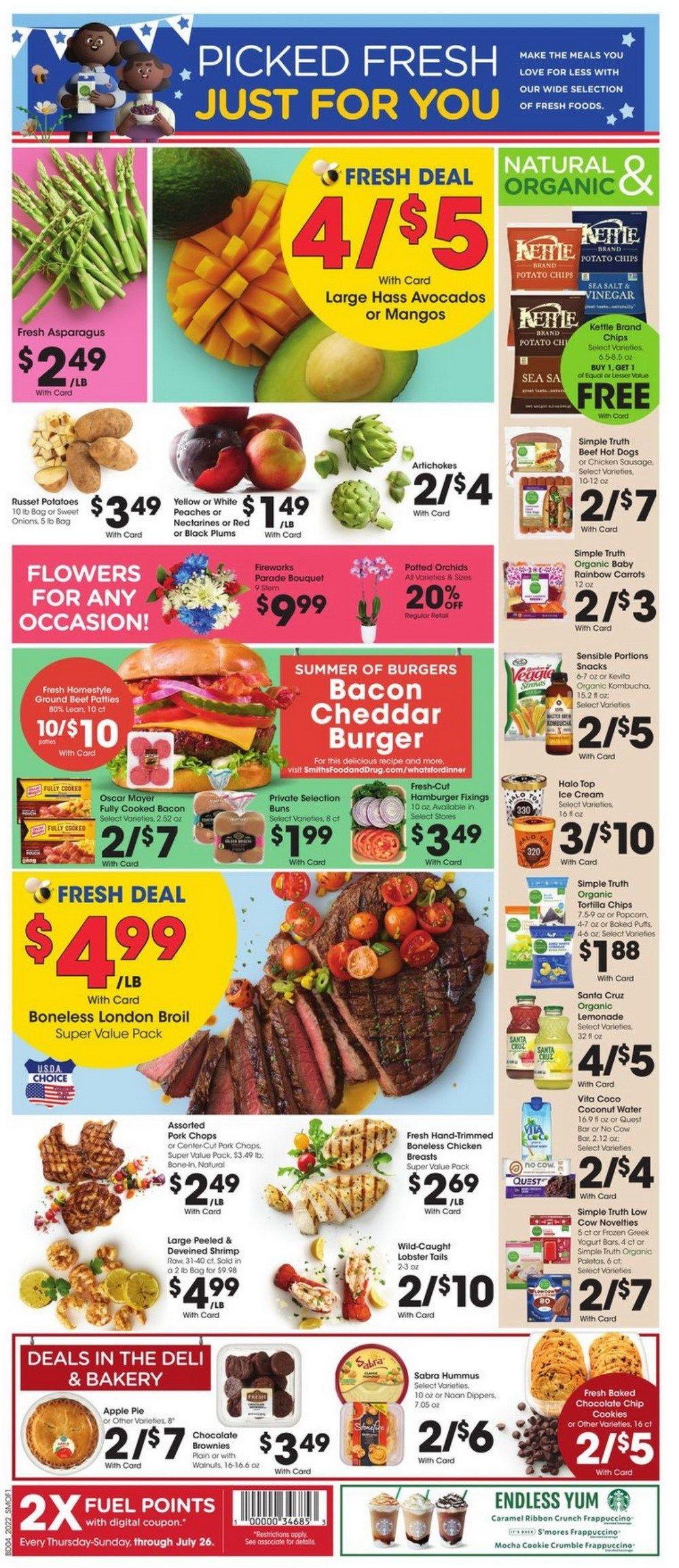 Smith's Food and Drug Weekly Circular July 01 - July 07, 2020
