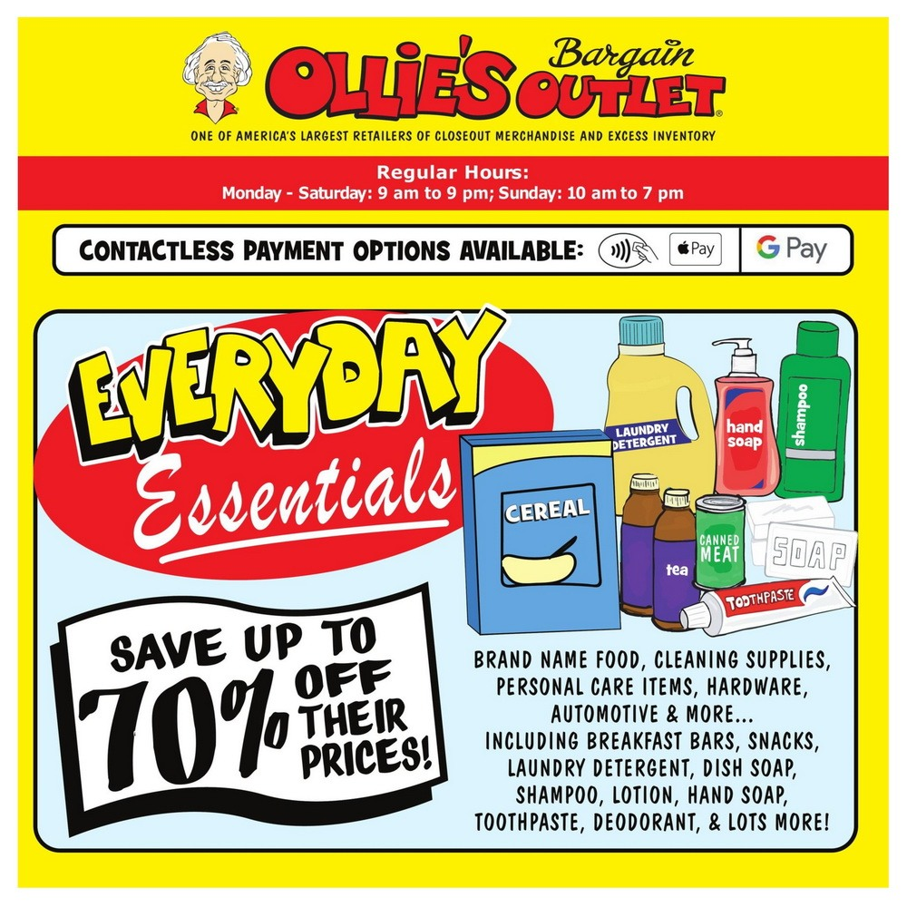 Ollie's Weekly Ad Jul 30 – Aug 05, 2020