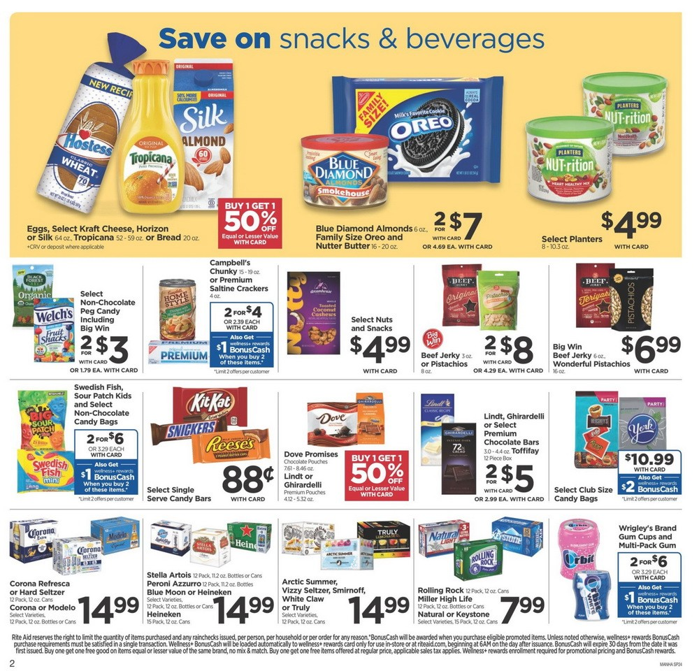 Rite Aid Weekly Ad Aug 09
