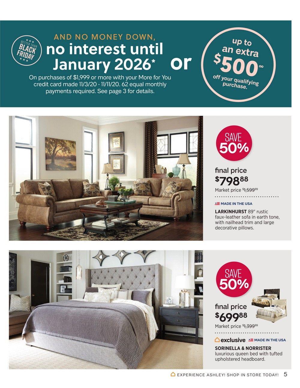 Ashley Furniture Homestore Veterans Day Sale