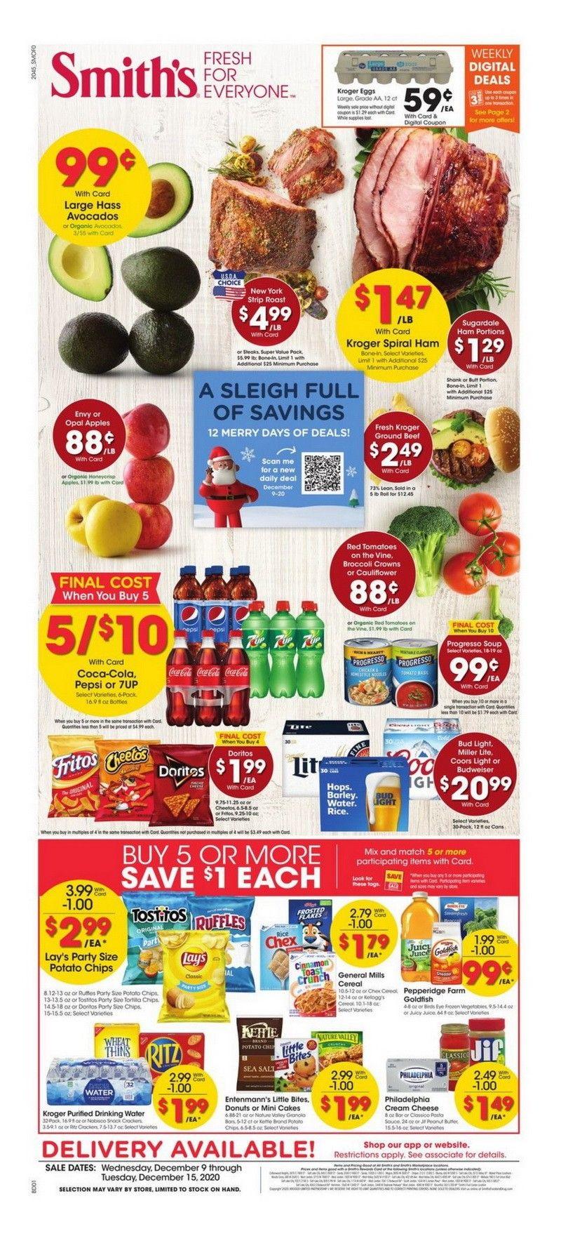 Smith's Food and Drug Weekly Circular Dec 09 - Dec 15, 2020