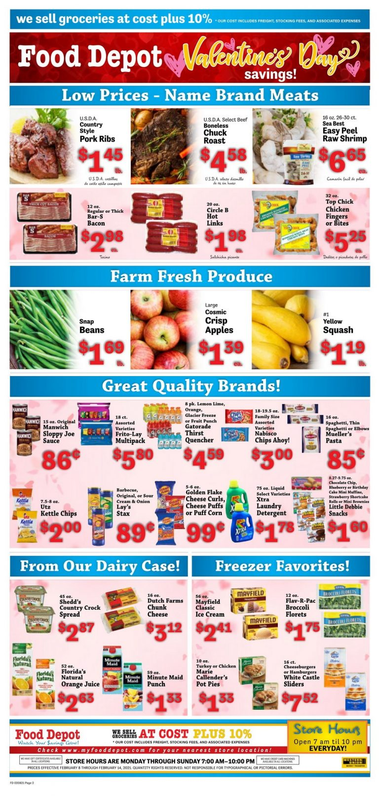 Food Depot Weekly Ad Feb 08 - Feb 14, 2021